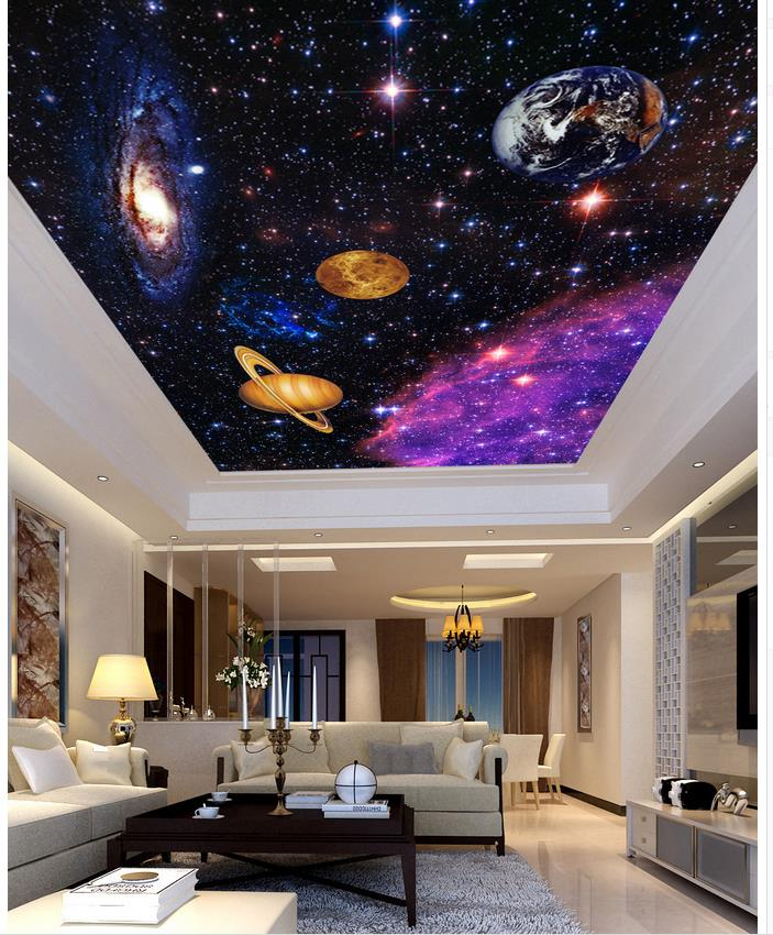3d mural paintings Custom 3d mural Continental bedroom living room wall background 3D fantasy world ceilings  rysunek kolorowy motyle