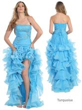 free shipping 2014 design open leg custommade size SEXY EVENING FORMAL PROM GOWN SWEET BEAUTY PAGEANT RUFFLE DRESS NEW HIGH LOW dress free shipping 2013 open leg custom size color sexy evening formal prom gown sweet beauty pageant ruffle dress new high low