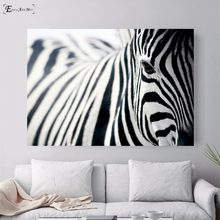 Nordic Sea Waves Zebra Bridge Posters and Prints Wall art Decorative Picture Canvas Painting For Living Room Home Decor Unframed(China)