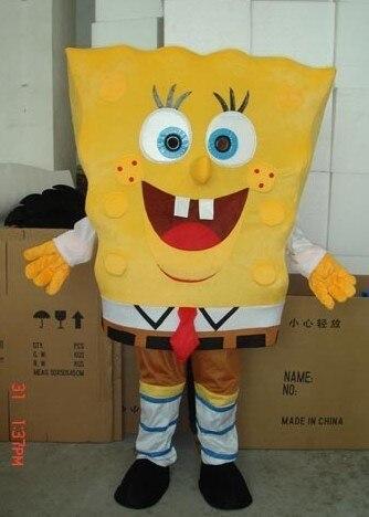 Nuova vendita Calda!! la Spugna bambino adulto del costume della mascotte