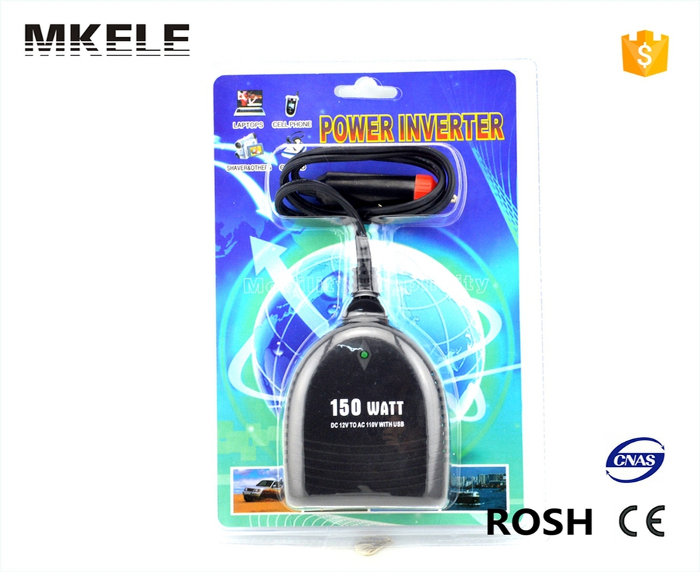 MKC150UX-121 manufacturer sale dc to ac mini size 12v to 110v inverter 150watt power inverter car inverter with wire solar power on grid tie mini 300w inverter with mppt funciton dc 10 8 30v input to ac output no extra shipping fee