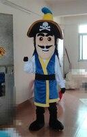 Капитан пиратов Пираты море Маскоты костюм с красной косынке толстый длинный брови бороды Сапоги и ботинки для девочек праздник специально