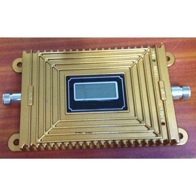 2016 nuevo 4G LTE Repetidor de señal LCD 4G 2600 MHz 70dBi Ganancia LTE 4G Amplificador Booster de Señal Teléfono móvil Repetidor de Señal