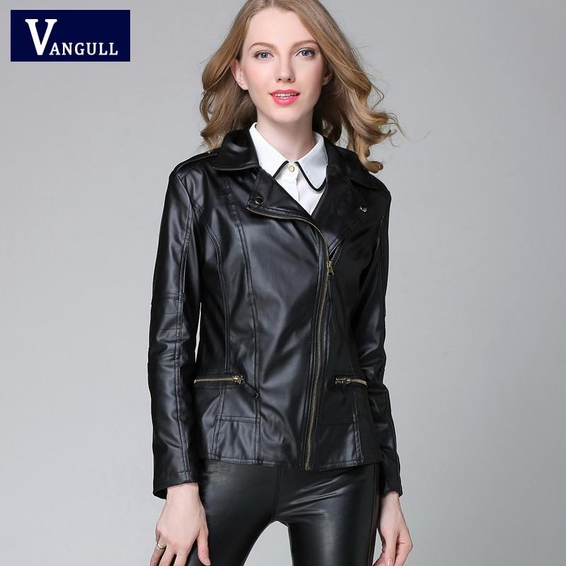 e3ff89de48047 leather jacket Woman Coat New Arrival 2017 Womens leather jacket ...