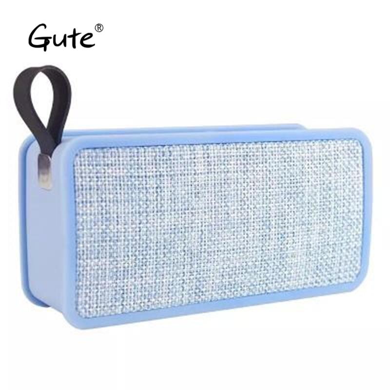 Gute new fashion Fabric art tijolo quadrado alça portátil baixo rádio sem fio Bluetooth speaker caixa de som alto falante c3 mon