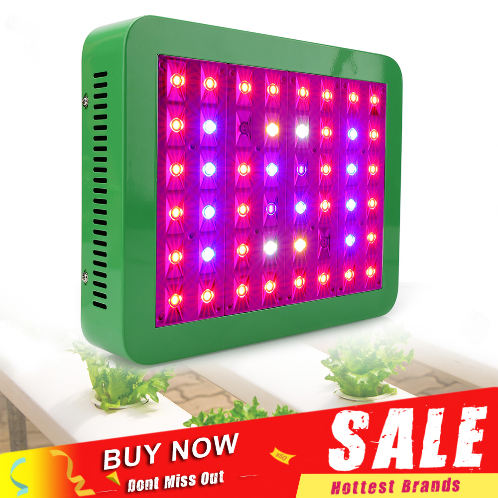 300W LED Growing Lamp 48leds Full Spectrum AC85 265V LED Grow Light for Indoor Plants Growth And Hydroponics 300w full spectrum 30 led ufo plant grow light ac85 265v growing lamp for indoor plants hydroponics system grow lamp