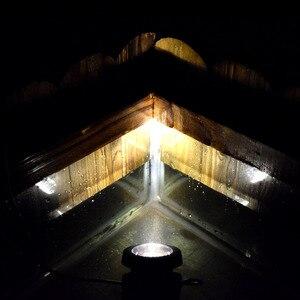 Image 4 - Solar powered super brilhante lâmpadas submersíveis ip68 holofotes luzes de projeção para jardim piscina lagoa luz subaquática ao ar livre