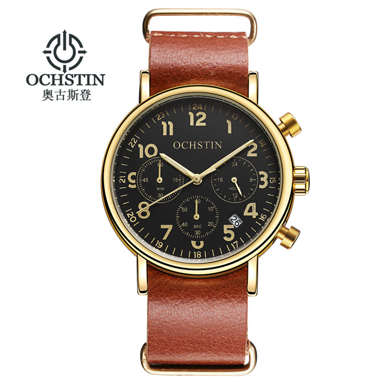OCHSTIN Fashion Chronograph Sport Mens Watches Top Brand Luxury Quartz Watch font b Reloj b font