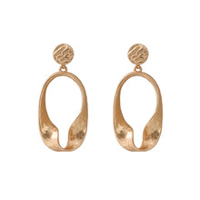 Ms ms popular earrings eardrop fashion in Europe and the earrings brushed gold earrings wholesale fashion and armour in rennaissance europe