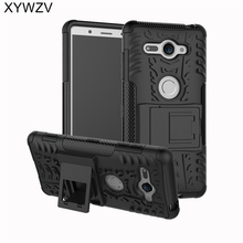SFor Coque Sony Xperia XZ2 Kompakte Fall Harte Silikon Telefon Fall Für Sony Xperia XZ 2 Compact Abdeckung Für Xperia XZ2 Kompakte Schale