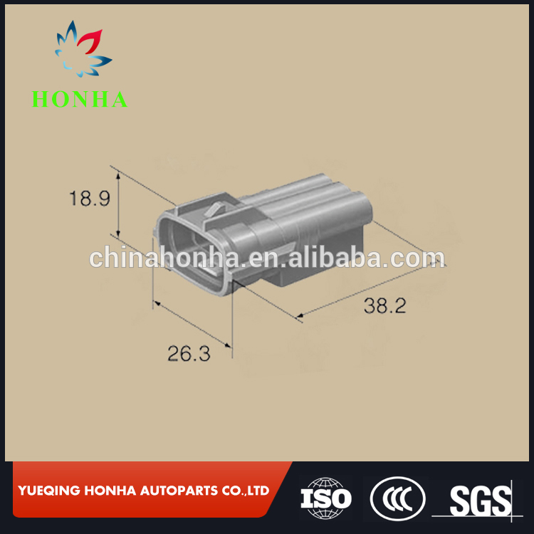 6188-0282 Grey 3 Pin Male Electrical housing connector Sumitomo <font><b>TS</b></font> <font><b>plug</b></font> connector image