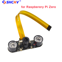 Raspberry Pi Zero Camera Camera F Focal Adjustable Module Night Vision Webcam 2 Pcs IR Sensor