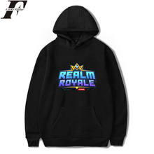 LUCKYFRIDAYF Realm Royale Hoodies Survival Game Print Women/Men Regular Kpop Sweatshirts Women Casual Clothes