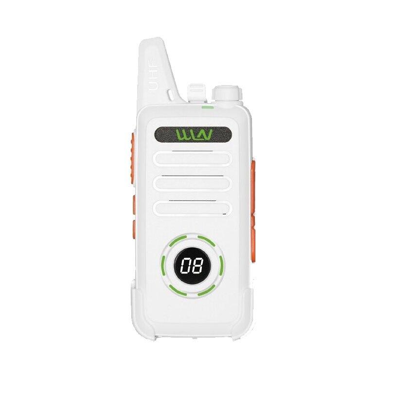 Image 3 - 10pcs WLN KD C1 Plus UHF MINI Handheld Walkie Talkie With Scrambler FM transceiver KD C1 plus Two Way Radio Ham communicator-in Walkie Talkie from Cellphones & Telecommunications