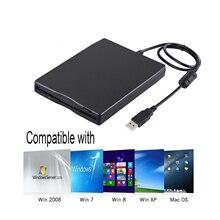 USB флоппи-накопитель, 3,5 дюймовый USB внешний флоппи-дисковод 1,44 MB FDD портативный usb-накопитель Plug and Play для настольного ноутбука