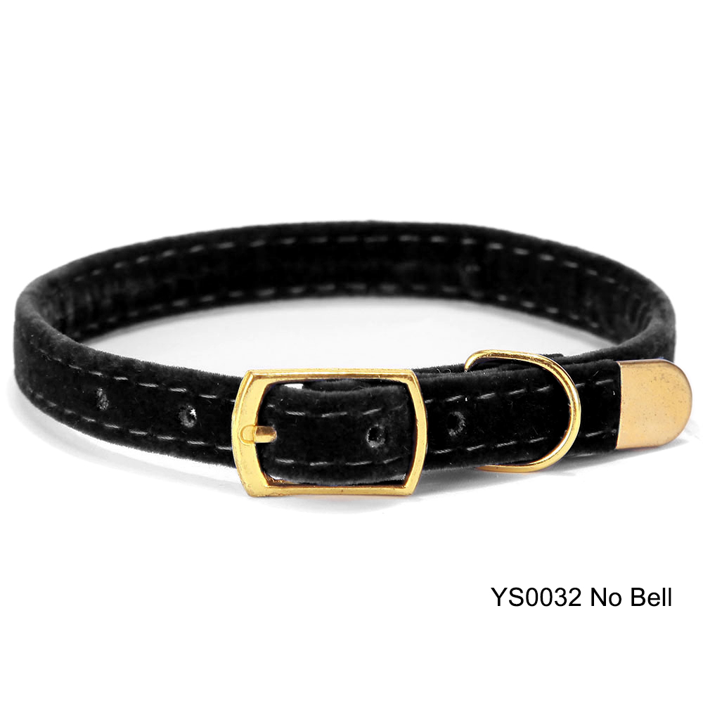 Solid Cat Collar With Bell Safety Cat Collars Adjustable Puppy Dog Collar For Small Dogs Cats Kittens Pet Collar Products YS0032 (8)
