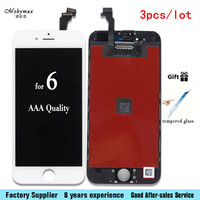 3pcs Lot LCD Display Touch Screen For Iphone 6 6G 6plus Mobile Phone Lcd Digitizer Assembly