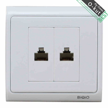 Free transport N86-902+621+621 two six community socket panel Class 6 Web cable wall plug