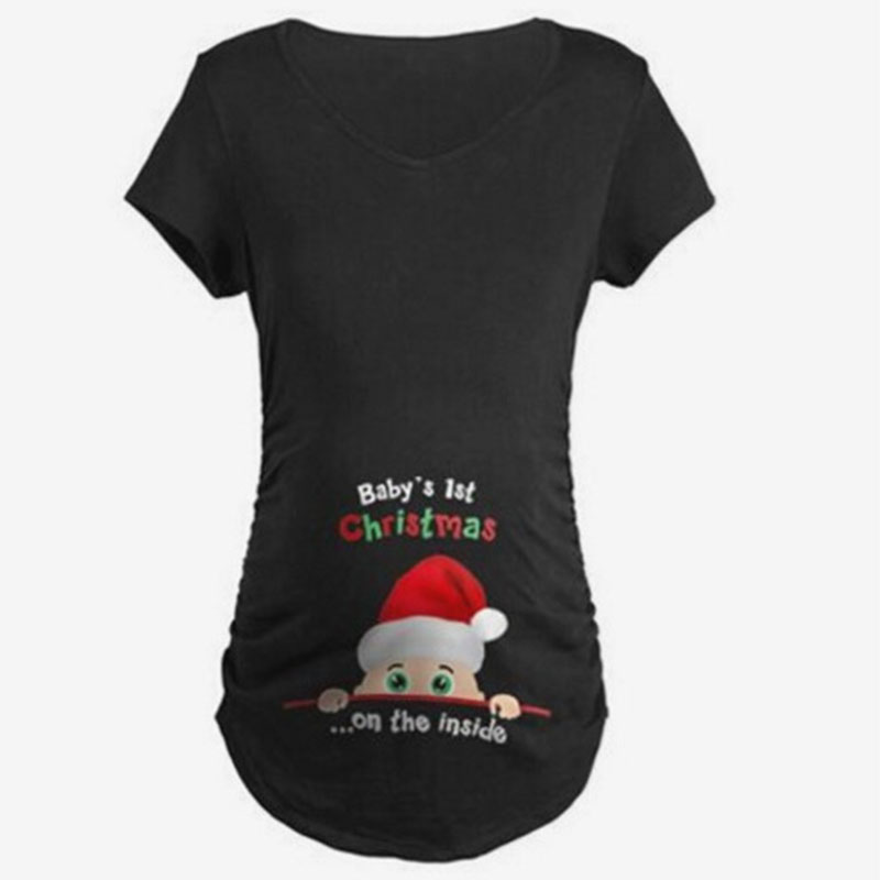 Cute Maternity Clothes Women For Pregnant Tshirt Clothes Summer Women T-Shirts Maternity Clothes Tops for Pregnant cute maternity clothes women for pregnant tshirt clothes summer women t shirts maternity clothes tops for pregnant