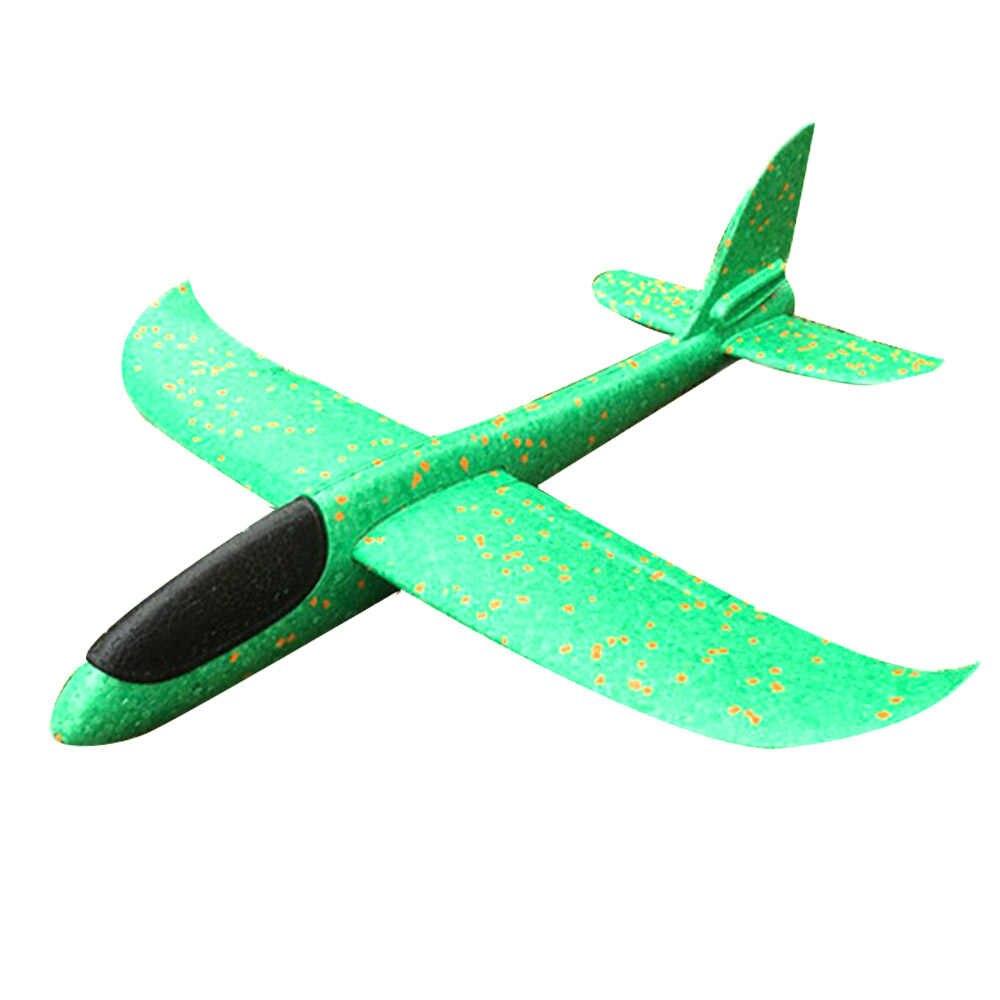 36 Cm DIY Pesawat Terbang Tangan Melemparkan Terbang Glider Pesawat Mainan untuk Anak Busa Pesawat Model Pesta Luar Ruangan Pengisi Glider