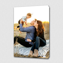 Custom Your Family Photo Memories Personalized Canvas Print On For Home Decoration Wall Art/ Gifts
