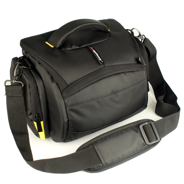 DSLR Camera Case Shoulder Bag Waterproof for Nikon D3300 Canon 200D Pentax Sony Fujifilm XE3 Olympus Cover