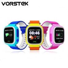 GPS smart watch bébé montre Q90 avec Wifi écran tactile SOS Call Lieu DeviceTracker pour Kid Safe Anti-Perdu Moniteur PK Q80 Q60