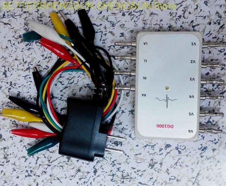 Generator ekg symulator sygnału ekg symulator sygnału impulsowego DG1000