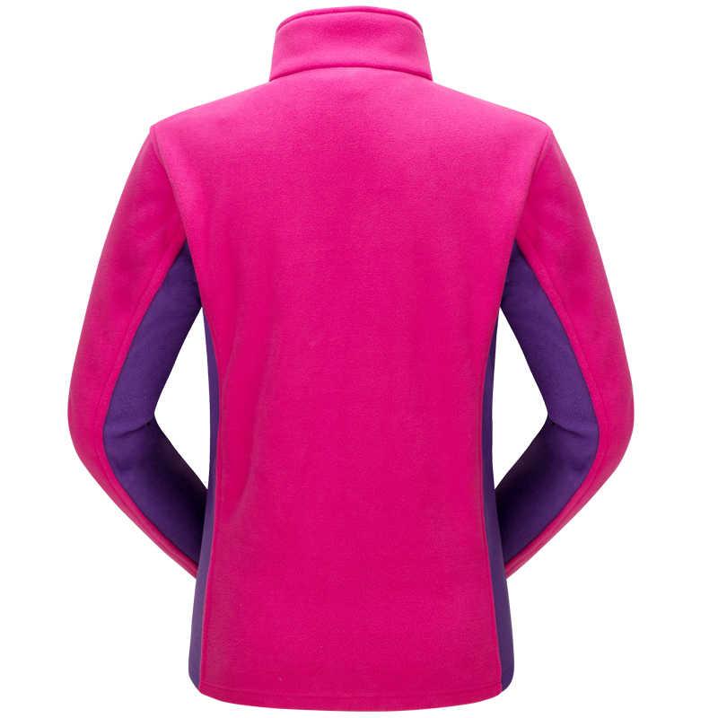 Утолщенная Женская флисовая куртка зима осень теплое пальто флис ветрозащитный термальная Антистатическая одежда