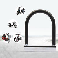 Bike Lock Bicycle U Lock Anti theft MTB Road Mountain Bicycle Accessories U Locks Cycling Steel Security Bike Locks