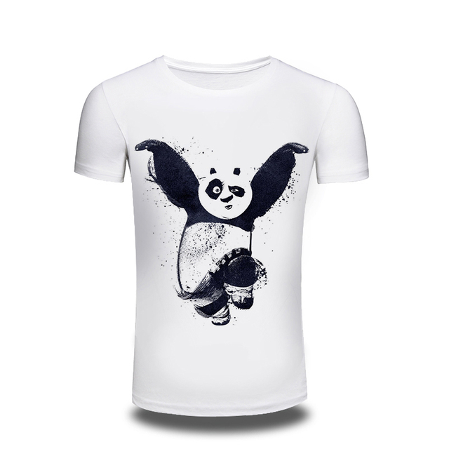 98621aeb8de9 US $7.49 25% OFF|Men's T Shirt 2016 Brands Fashion Short Sleeved Tees Male  Camisa Masculina T Shirt Printed Animal Plus Size M 3XL-in T-Shirts from ...