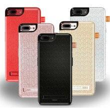 Excelay 7500 мАч телефон клип Батареи для iphoen 7 7 плюс Внешний источник питания клип батарея Мобильного телефона стенд для iPhone 6 6 S 6