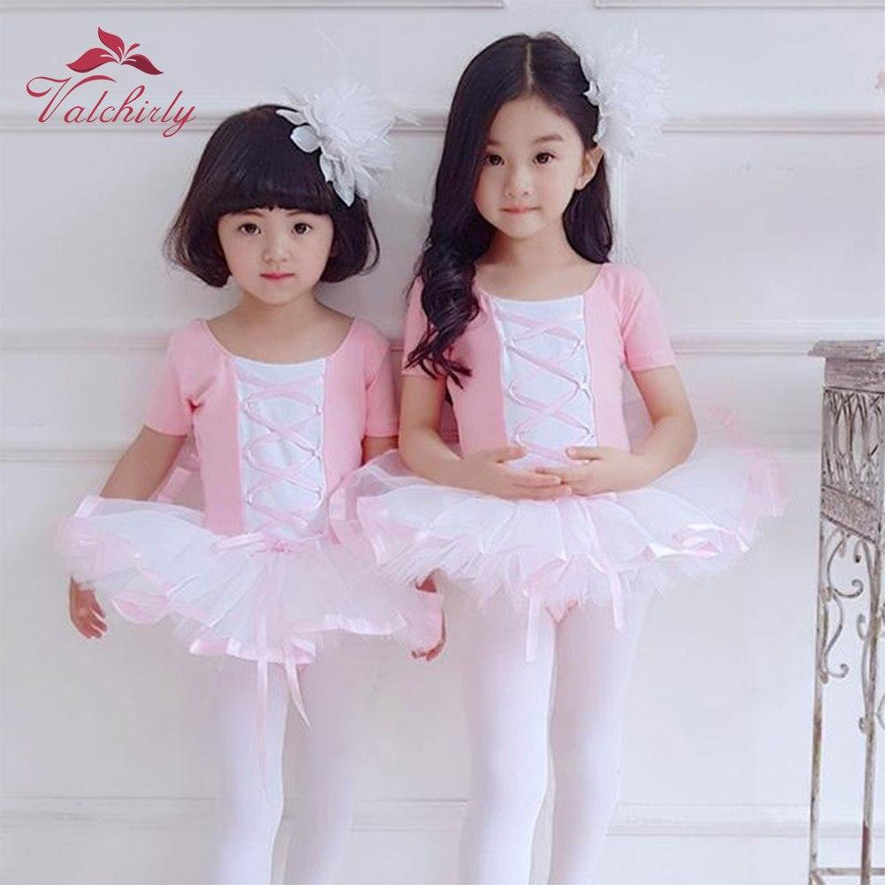 Балетки для девочек, танцевальные костюмы детской балерины, костюмы для выступлений, юбка с цветами, атласная лента по бокам|Балет| | АлиЭкспресс