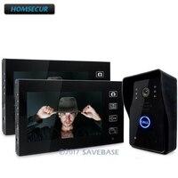 HOMSECUR 7 Wireless Video Door Phone Doorbell Intercom System With Ir Camera Rain Proof 1V2