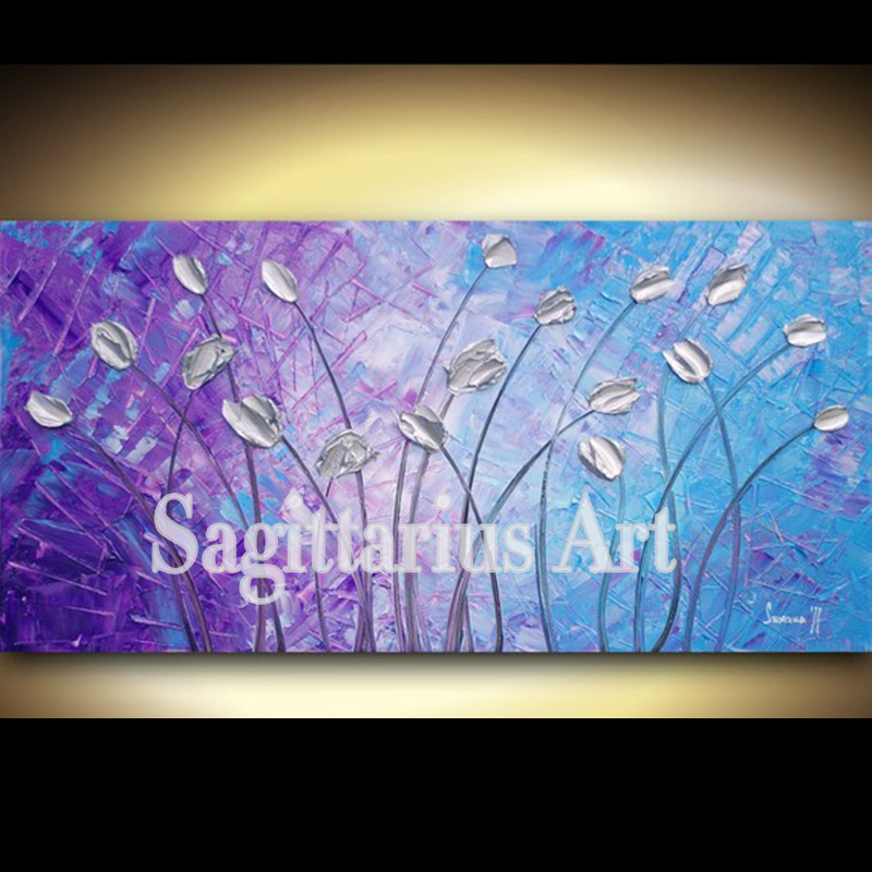 Blue And Purple Wall Art