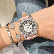 Roman scale rhinestone heavy work exquisite watch quartz fashion wild waterproof ladies