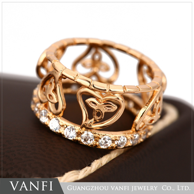 Aliexpress Buy New Fashion Gold Color Hollow Heart Shape