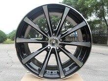 Из Китая! 19 х 9.5 и 35 5×114.3 OEM Черная Машина Лицо легкосплавные колесные диски W101