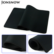 JONSNOW Large Mouse Pad Gaming XL Black Classic Computer Laptop Macbook MousePad Mat Keyboard Desk 600x300mm