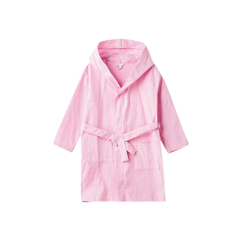 Robes MODIS M182U00194 pyjamas home clothing kimono lingerie for girls kids clothes children clothes TmallFS leaf print flounce sleeve kimono