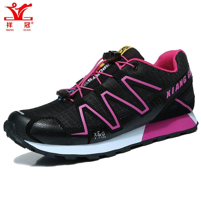 Women hiking shoes outdoor climbing sport breathable mountain zapatos walking trekking font b sneakers b font