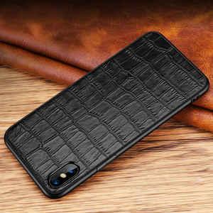 Image 3 - Чехол из натуральной кожи для Iphone X 11 12 Pro, чехол для XS Max SE 2020, противоударный чехол для Iphone XR 7 8 Plus 12Mini, чехлы