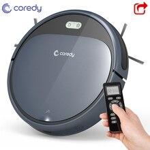 Горячая Coredy R300 1400 PA робот-пылесос для напольных покрытий для чистки ковров перезаряжаемая, интеллектуальная Автоматический робот-уборщик вакуумный очиститель для дома