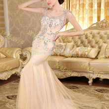 2019-See Though Free-Shipping Mermaid Luxuries Dresses