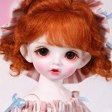 Полный набор, Новое поступление 1/6, BJD кукла, милая кукла Carol для девочки со стеклянными глазами, подарок на день рождения, Рождество