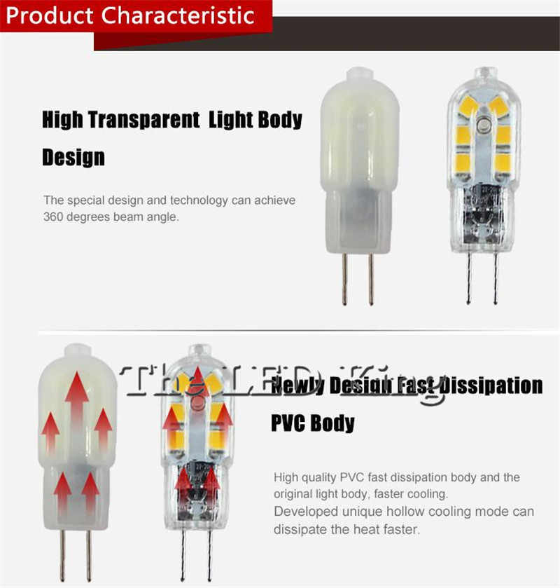 10 قطعة/الوحدة G4 LED مصباح 3 واط لمبة ذرة التيار المتناوب 220 فولت تيار مستمر 12 فولت Lampada LED G4 G9 SMD2835 واضح/غطاء لبني أضواء عالية مشرق الثريا
