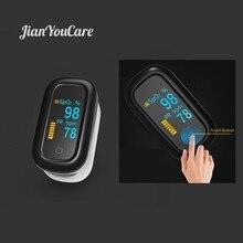 Medical Finger Pulse fingertip Oximeter Oled Touch Full Screen spo2 Blood Oxygen Heart Rate Saturometro Monitor Oximetro De Dedo цены