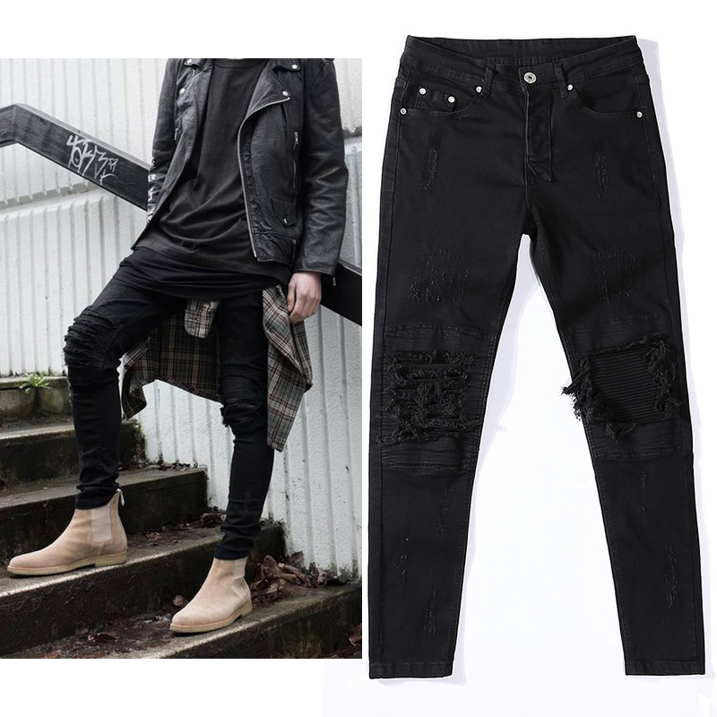 Black Slim Jeans Men