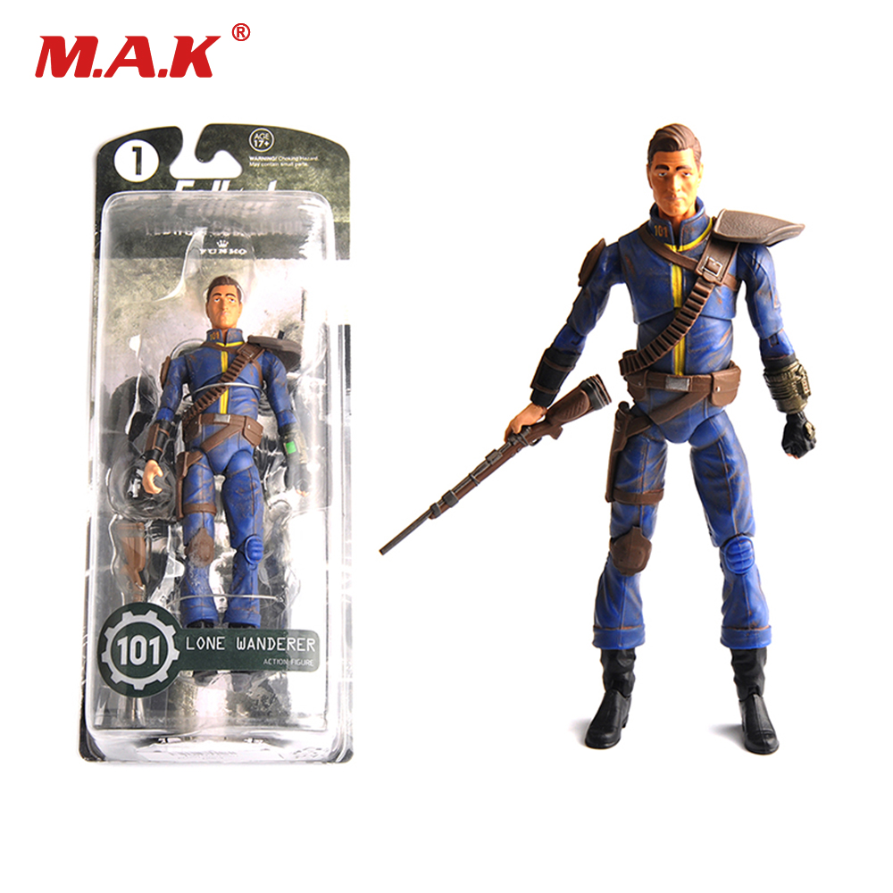 Toys for Boys Fallout 4 PVC Action Figure 6 inches Power Armor Out of clothing Model Toys for Collections