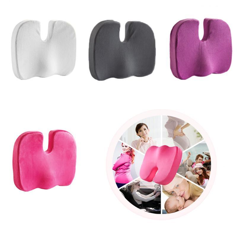 HTB1ze7nb J SKJjSZPiq6z3LpXa5 Travel Seat Cushion Coccyx Orthopedic Memory Foam U Seat Massage Chair Cushion Pad Car Office Massage Cushion